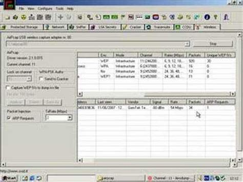 wireshark airpcap tutorial cain crack wep software most