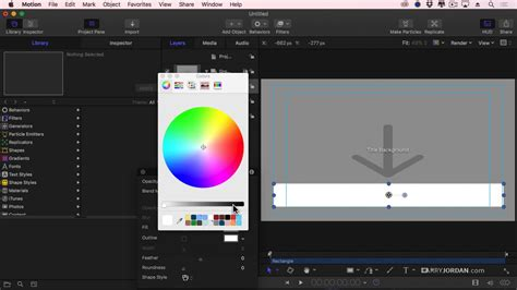 motion 5 title templates apple motion 5 3 create a title template for fcp x