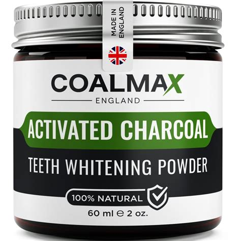 activated charcoal teeth whitening powder  natural