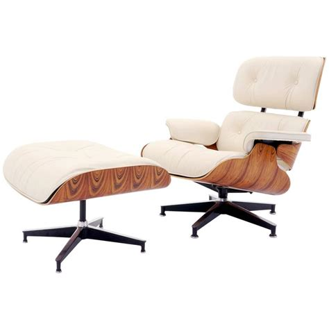 Vintage Eames Chair And Ottoman Vintage Rosewood Eames Lounge Chair And Ottoman With New Herman Miller Cushions At 1stdibs