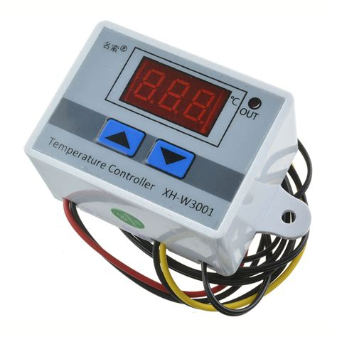 Thermostat Module With And Lower Limits Xh W1401 ac 220v 10a led digital temperature controller thermostat