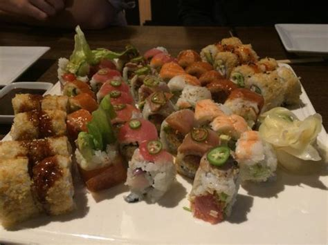 blue sushi lincoln nebraska roll extravaganza picture of blue sushi sake grill