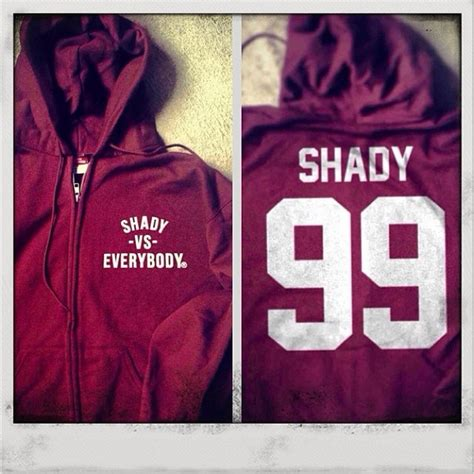 Sweater Shady Made Me Eminem Anime shadyvseverybody hoodie available now shady records