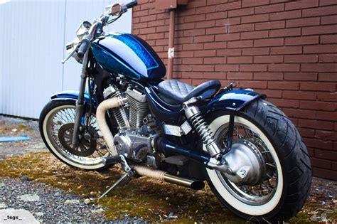 Suzuki Intruder Bobber Parts This Is My Freshly Built Suzuki Intruder Vs700 Bobber
