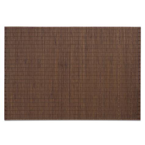Tischsets Aus Holz by 4er Set Tischset Bambus Holz Platzset Tisch Platzmatte