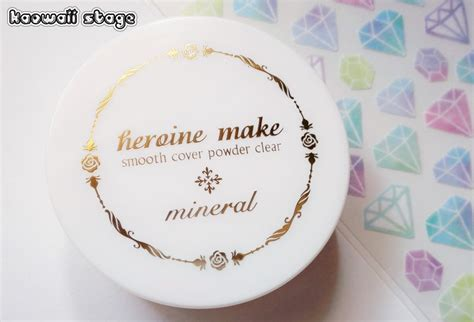 Smooth Powder Cover me heroine make smooth cover powder clear kaowaii