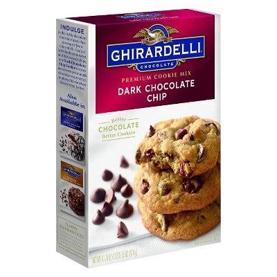 ghirardelli chocolate chip premium cookie mix 16