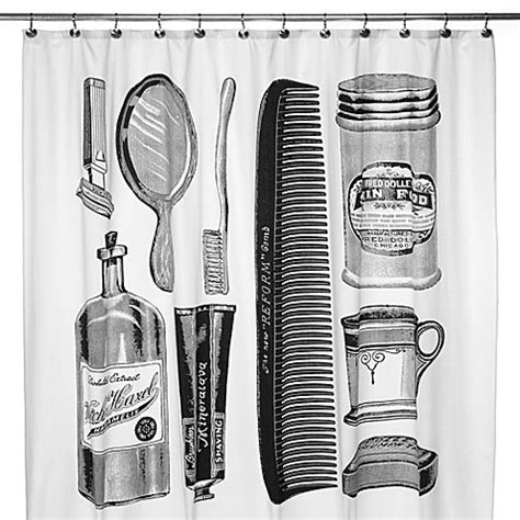 apothecary shower curtain apothecary 72 inch x 72 inch shower curtain bed bath