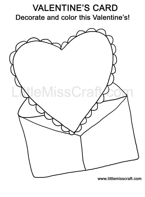 coloring pages for valentines cards crafts valentine s card doodle coloring page