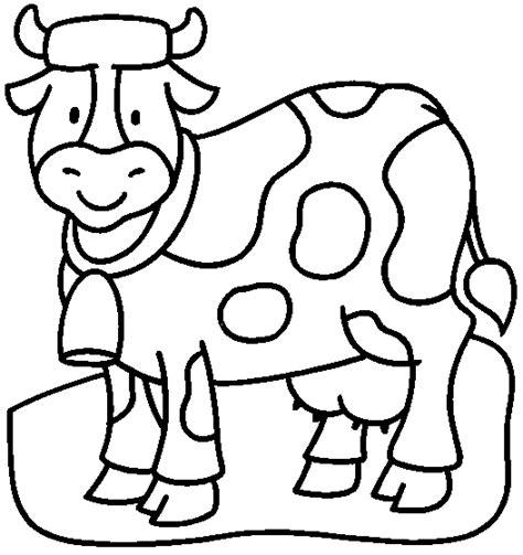 imagenes para colorear vaca vaca lechera dibujalia dibujos para colorear