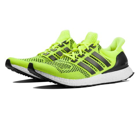 adidas ultra boost mens running shoes yellow buy