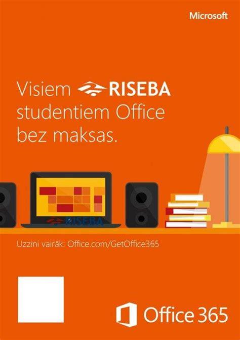 Microsoft Office 360 Visiem Riseba Studentiem Quot Microsoft Office 360 Quot Ir