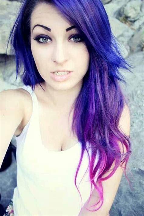 is ombre blue hair ok for older women blue purple pink ombre hair hairrrrr pinterest i
