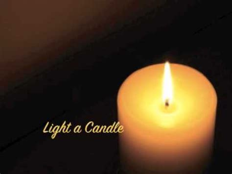 how to light a candle light a candle avalon lyrics