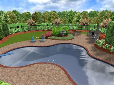 landscape layout pictures 3d landscape designs