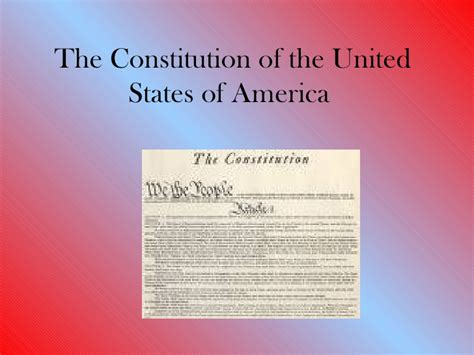 what section of the constitution states why it was written the constitution of the united states of america