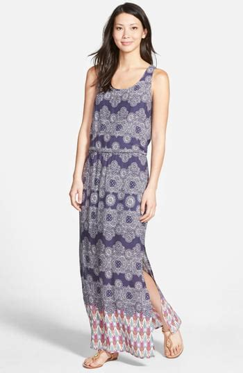 lunch lounge print maxi dress nordstrom