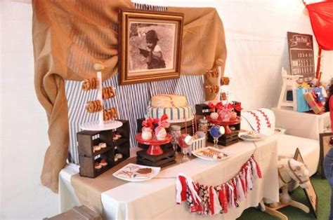 Baseball Baby Shower Decoration Ideas by Vintage Style Baseball Baby Shower Baby Shower Ideas