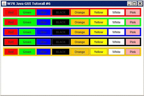 java swing container java gui tutorial 6 jpanel as a container w7r tech