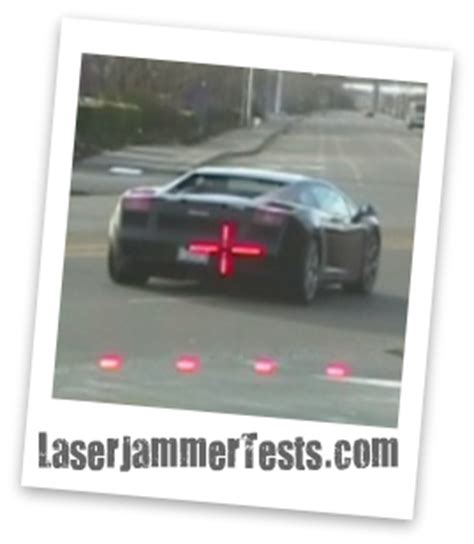 Jam Laser home laser jammer tests
