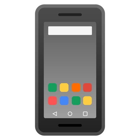 mobile phone icons mobile phone icon noto emoji objects iconset