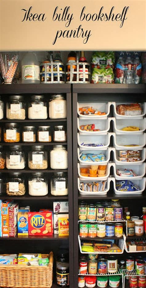 ikea pantry hack 30 genius ikea billy hacks for your inspiration 2017