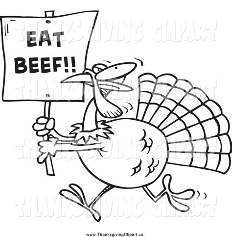running turkey coloring page clip art eat sign clipart clipart suggest