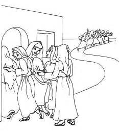 the parable of the ten bridesmaids coloring page
