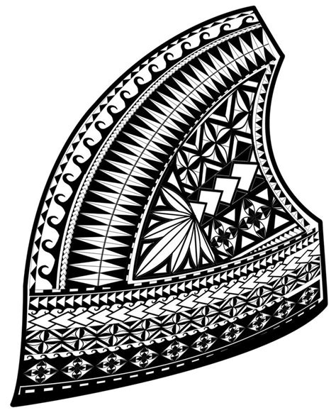 black and white pattern meaning samoan tattoo clipart