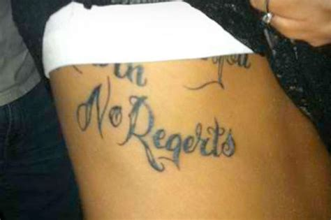 tattoo errors pictures 14 tattoo spelling mistakes that were regertted