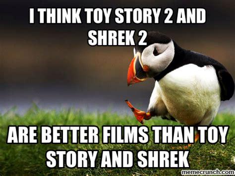 Meme Generator Toy Story - toy story shrek