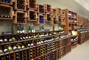 Grocery Barn Retail Wine Merchandising Wine Store Racking Retail