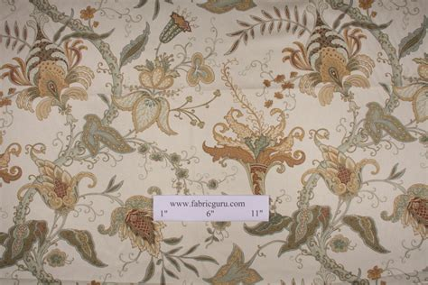 robert allen drapery fabric robert allen pontoise printed cotton drapery fabric in mimosa