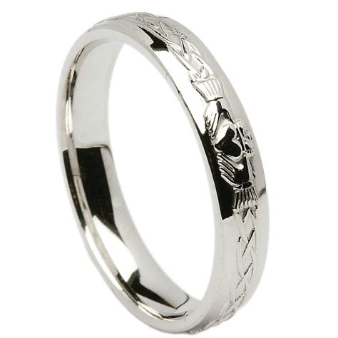wedding ring celtic knot claddagh wedding