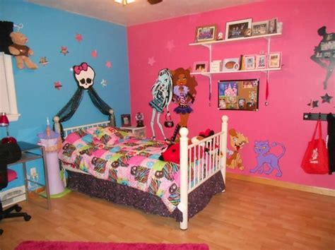monster high bedroom 17 best images about monster high room ideas on pinterest