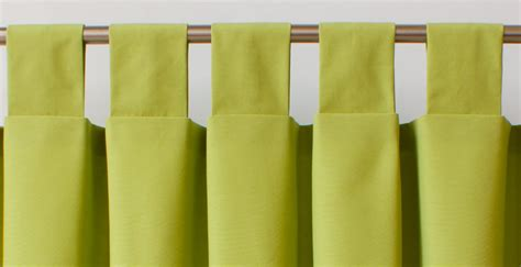 making tab top curtains a guide to styles of curtain headings