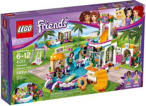Lego Friends Mainan Lego Anak Anak Murah jual mainan anak perempuan lego 41313 friends heartlake summer pool murah toko bricks