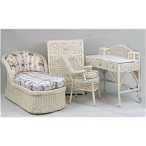 painting wicker bedroom furniture an assembled group of ivory painted wicker girl s bedroom