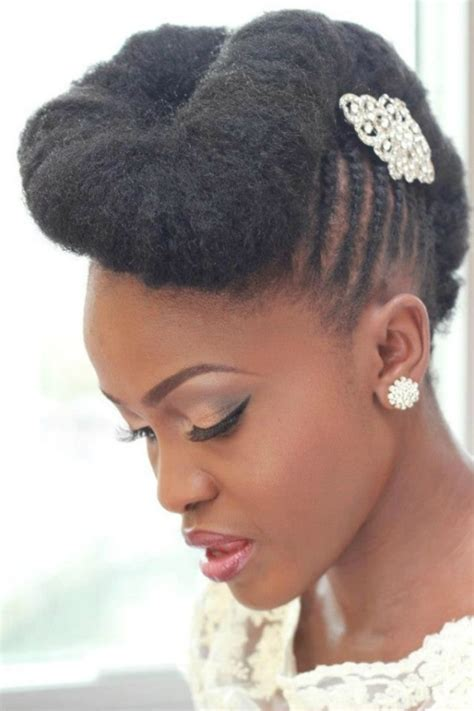 bridal hairstyles natural hair wedding styles for natural hair