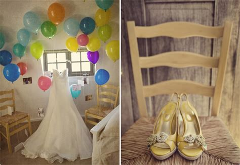 an up inspired wedding thoughtfully simple