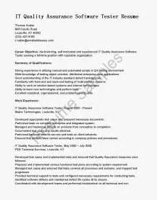 3 Years Manual Testing Sle Resumes by Testing Resume Sle Vosvetenet Automation Engineer
