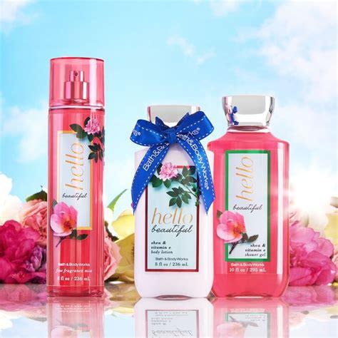 Bath Works Lotion Hello Beautiful 236ml Berkualitas the springtime trio of fragrance hellobeautiful hello beautiful