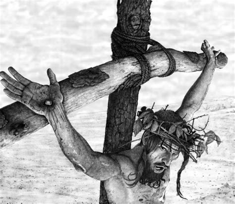 Pencil Drawings Of Jesus On The Cross Drawing Pencil Jesus On The Cross Drawings