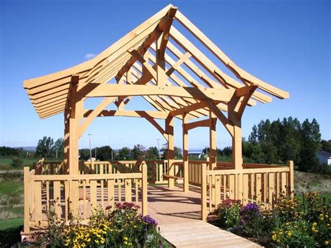 19x22 timbered pavilion timber frame hq 120 best pavilions and pergolas images on pinterest
