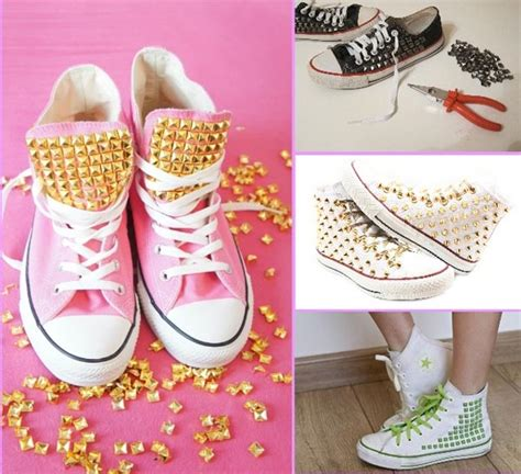 decorar zapatillas con lentejuelas 4 ideas para customizar tus zapatillas converse