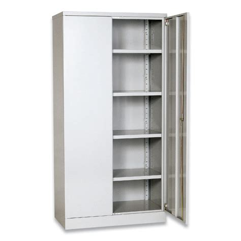 Metal Storage Cabinet With Doors Metal Storage Cabinets