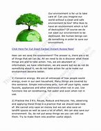 Image result for how we can protect our environment essay
