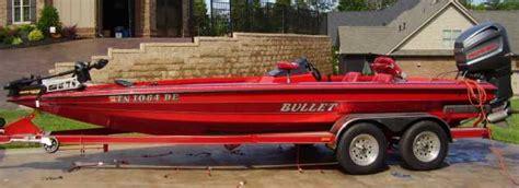 bass boat central setup bullet