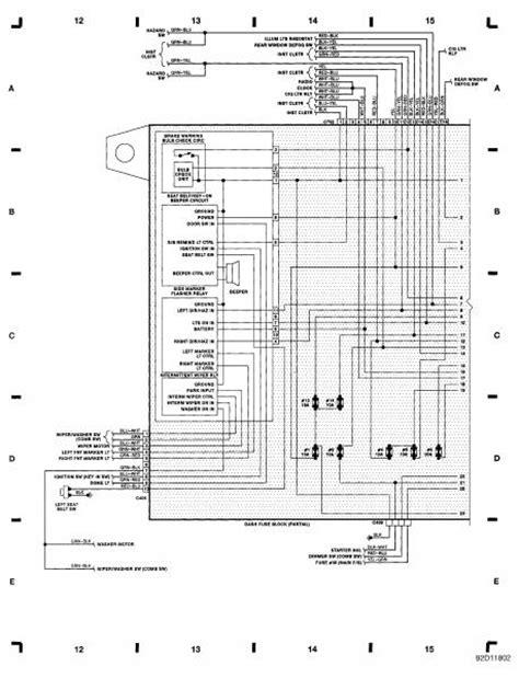 1991 honda civic radio wiring diagram 1991 free engine