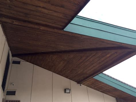 Exterior Ceiling Paint by Refinishing An Exterior Ceiling Painting Finish Work